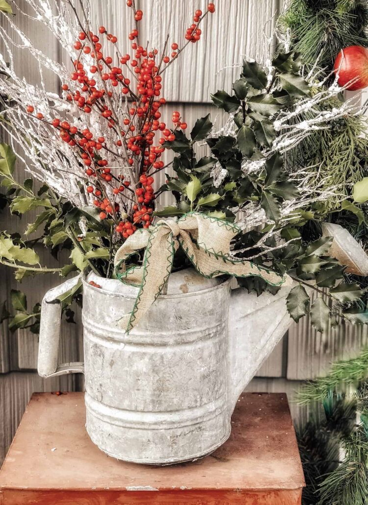 Antique Watering Can Ideas