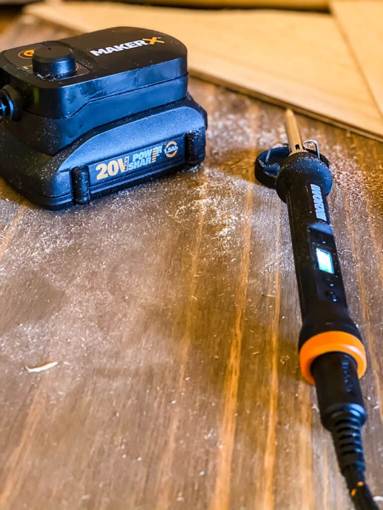 WORX MAKERX WOOD AND METAL CRAFTER
