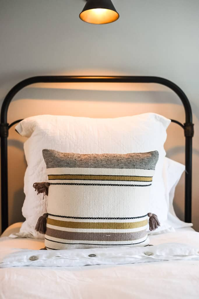 twin bed at Hillcrest Estate