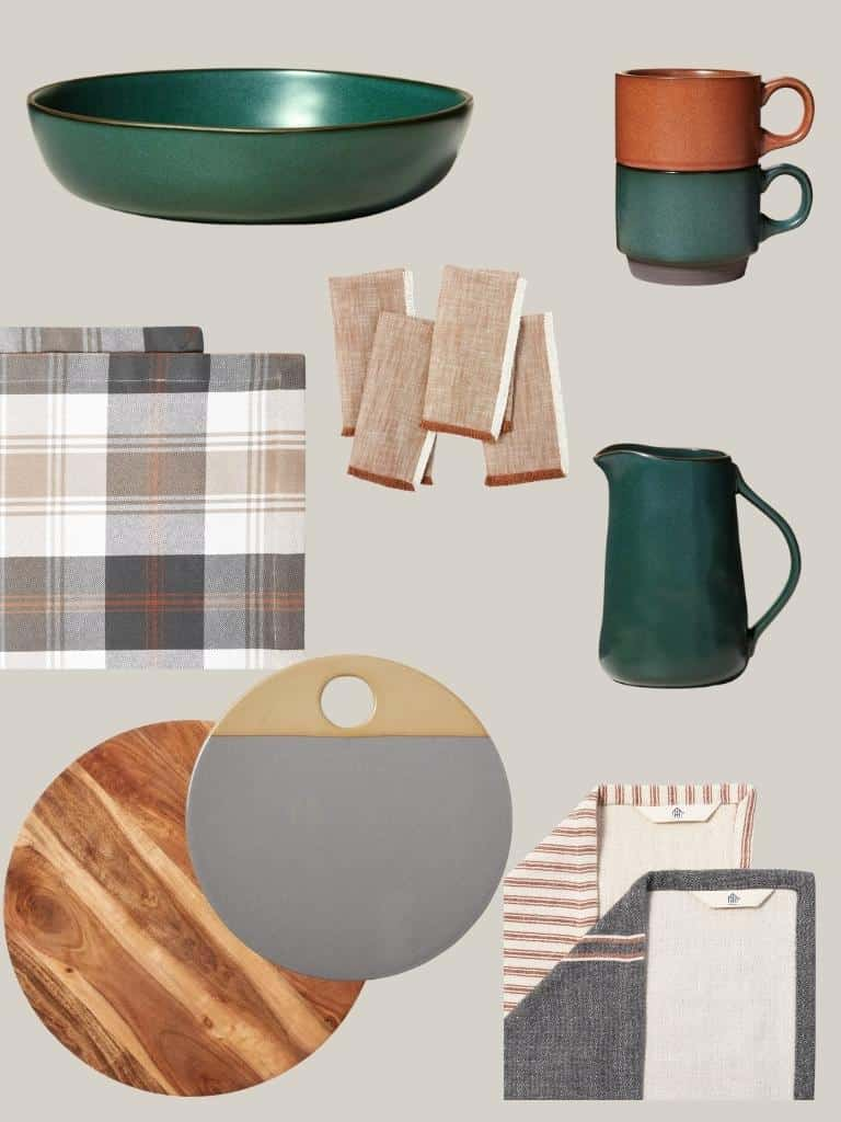 hearth & hand product collage