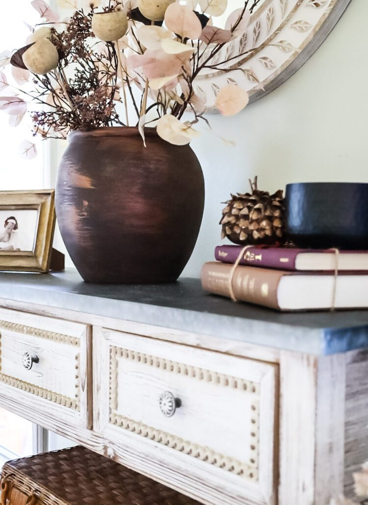 Fall entryway table